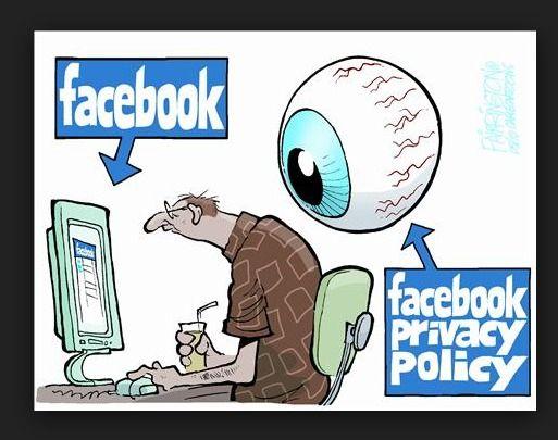 Facebook privacy policy D Social Media Comics Pinterest - social media policy
