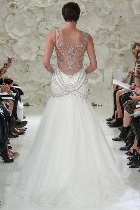 Estos vestidos de novia son para chicas atrevidas
