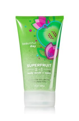 Beautiful Day 2-in-1 Superfruit Body Scrub & Wash - Signature Collection - Bath & Body Works