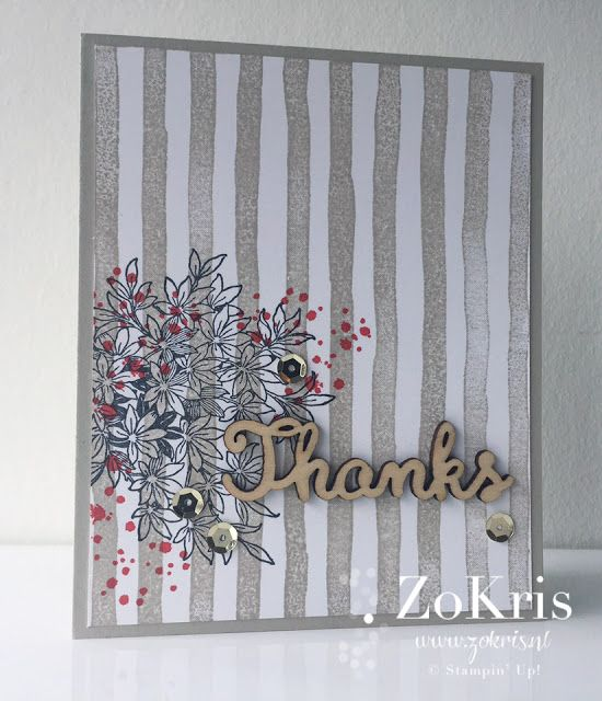 Stampin' Up! - Brushstrokes, Awesomely Artistic - ZoKris