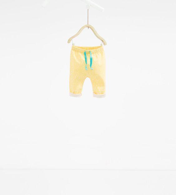 Imagem 1 de Leggings estampado triângulos da Zara