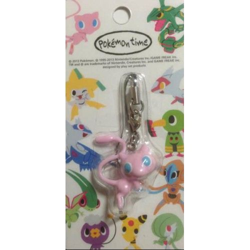 Pokemon Center 2013 Pokemon Time Campaign #6 Mew Mobile Phone Strap