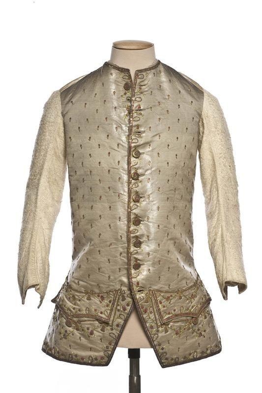 Waistcoat, 1750-70, French.