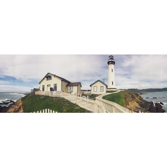 """pigeon point lighthouse"""