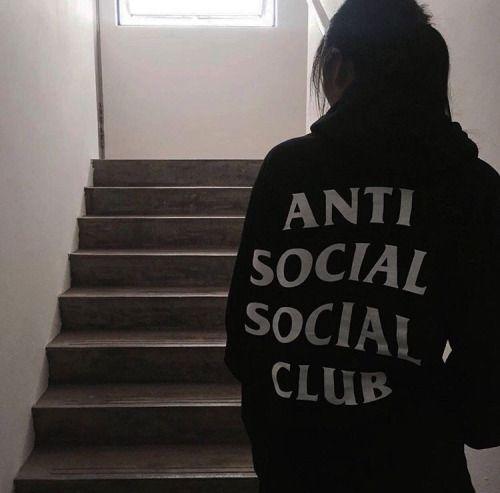 Anti Social Social Club Hoodie Fashion Grunge Fashion Style