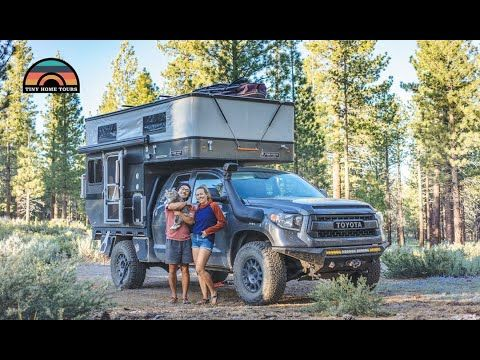 This Is The Story Of Mak And Owen And Their 4x4 Truck Camper Tiny House Built By Main Line Overland Believe It Or Not Before Camper Tiny House On Wheels 4x4
