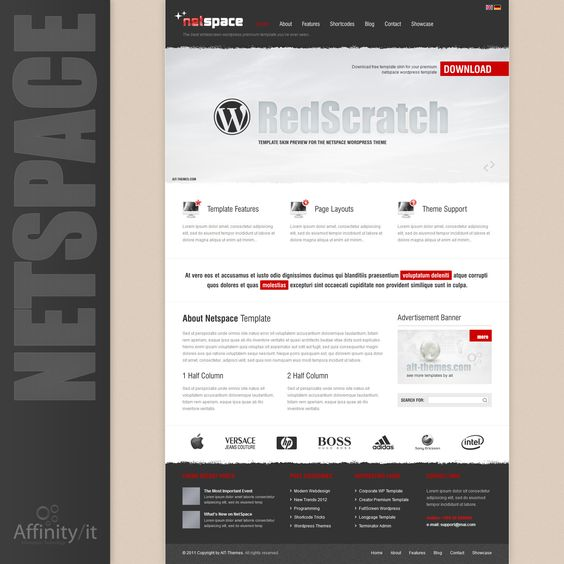 Personal or company website template? $40