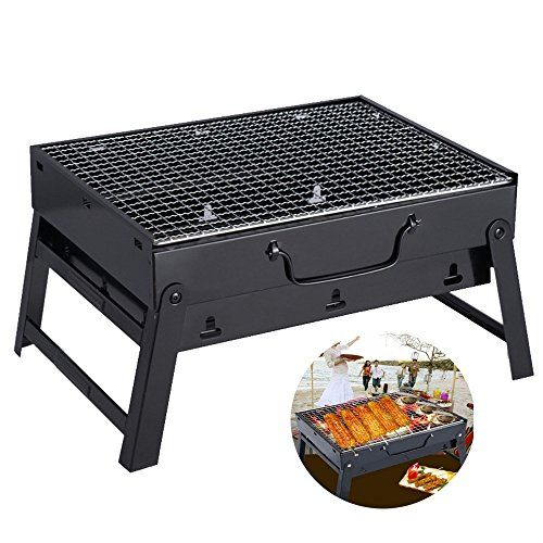 Barbecue Grill Compact Charcoal Outdoor Folding Portable Shashlik Barbecue Grill Home Bbq Tool Set Net We Charcoal Bbq Grill Stainless Steel Bbq Bbq Tool Set