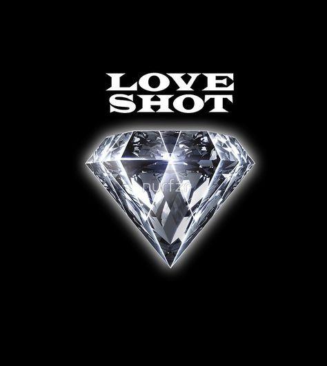 Exo Love Shot 02 Exo Logo Exo Cover Wallpaper