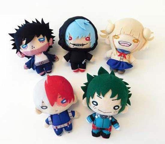 Boku no Hero Academia Mochi mochi Mascot Plush Key chain Tenya Iida