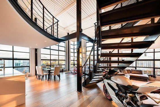 Loft in Vancouver showcasing impressive design and views