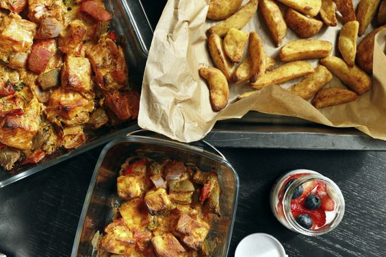 Salmon tikka and paneer tikka   http://polkadotchic.net/2016/03/23/a-few-ways-i-embarrass-my-better-half-and-a-tikka-recipe/