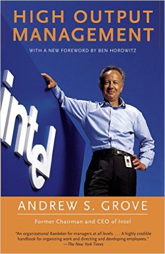 High Output Management eBook: Andrew S. Grove: Amazon.fr: Boutique Kindle