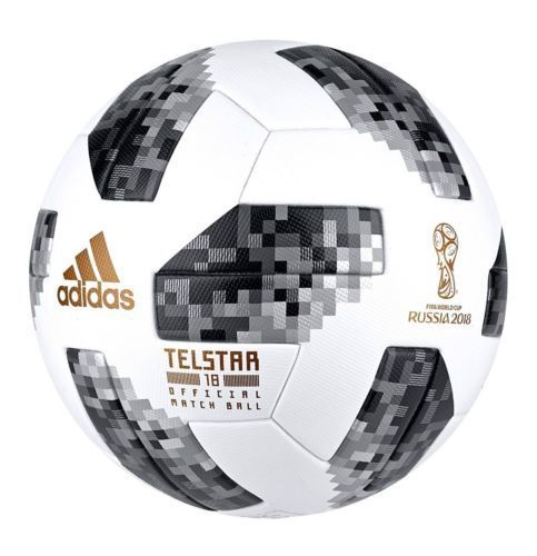Adidas 2018 Fifa World Cup Russia Telstar Official Match Ball White Black Https Www Bonanza Com Listings 598082976 Soccer World Cup 2018 Soccer Ball Soccer
