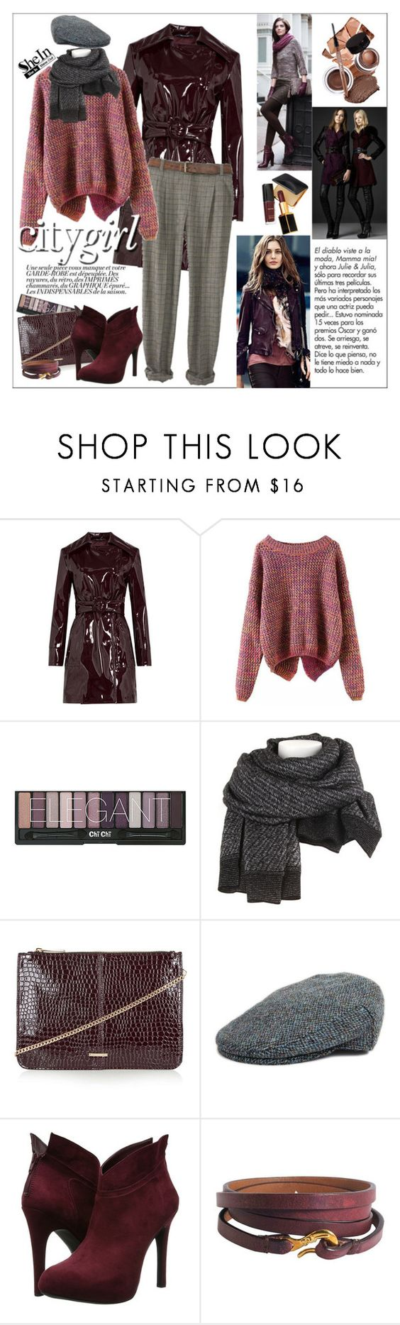 """♡WIN A SHEIN LONG SLEEVE PURPLE SWEATER!♡"" by ceci-alva on Polyvore featuring Mode, November, Maison Margiela, Alexander Wang, Topshop, Failsworth Hats, Tom Ford, Jessica Simpson und Ippolita"