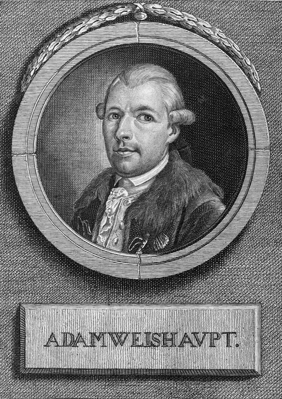 """Adam Weishaupt (Founder of the """"Illuminati"""")"""
