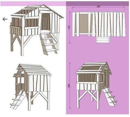 plans lit cabane bricolage tage pinterest lit cabane draisienne et mobilier enfant. Black Bedroom Furniture Sets. Home Design Ideas