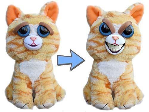 Feisty Pets Princess Pottymouth Plush Cat Evil Grin Ear To Ear