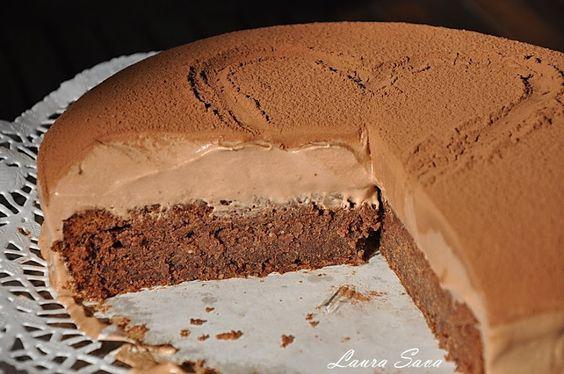 Tort Mousse au chocolat | Retete culinare cu Laura Sava: Tort Mousse, Romanian Recipes, Laura Sava, Mousse, Chocolat Retete, Chocolate, By Laura, Culinary, Recipes