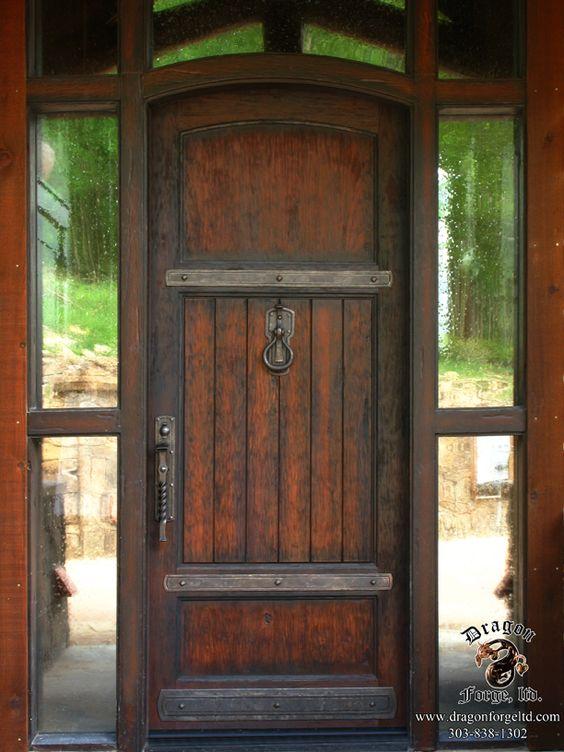 American Craftman Style Front Door Hardware Door Ideas