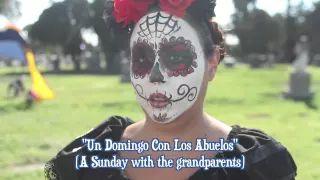 dia de los muertos cimetière et autels - YouTube
