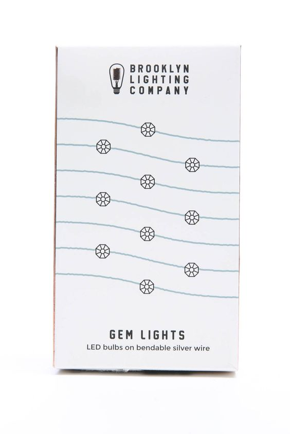 Brooklyn Lighting Co. Gem Wire Lights | South Moon Under