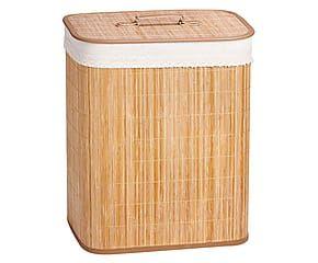 Cesto de Roupa de Bambu: Elegância Natural | WESTWING
