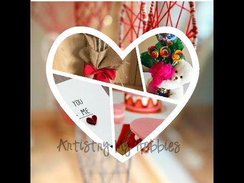 Valentine Ideas Gifts Cards Do It Yourself Art Craft Ideas Youtube In 2020 Valentine Gifts Gifts Cards Crafts