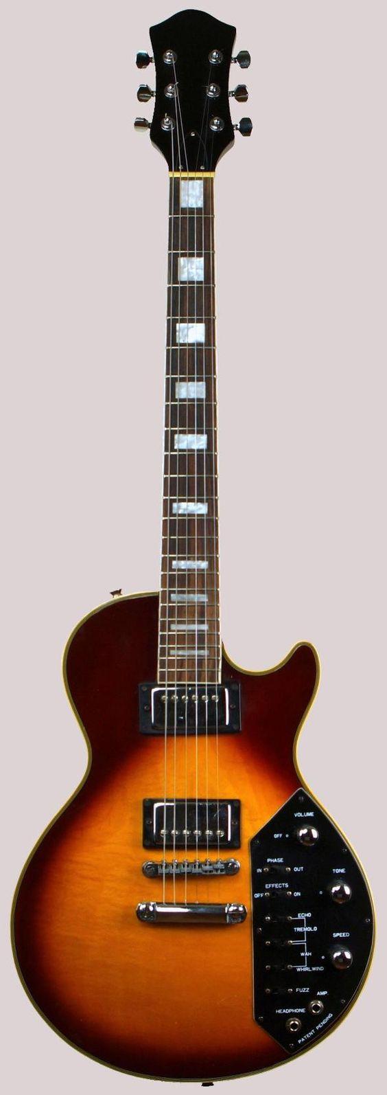 kay univox matsumoto effector guitar