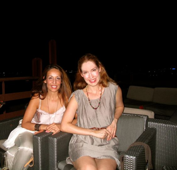 Noche de chicas en Marrakech :) @inmabrea @carlamasqueyoga