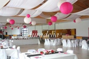 Decoration plafond salle mariage lampions d coration plafond pinterest - Deco plafond mariage ...