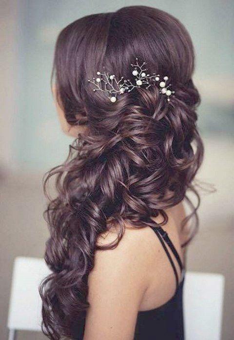 Lillian Rose Rustic Flower Wedding Hair Clip Accessories Hair Styles Simple Wedding Hairstyles Wedding Hair Side