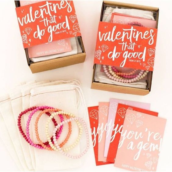 IBT is looking for your favorite companies that give back! We want to know about the ones you love so tag them below! How cute are these @31bits galentine's gifts handmade in Uganda with recycled paper! #happygalentines #galentinesgifts #valentines