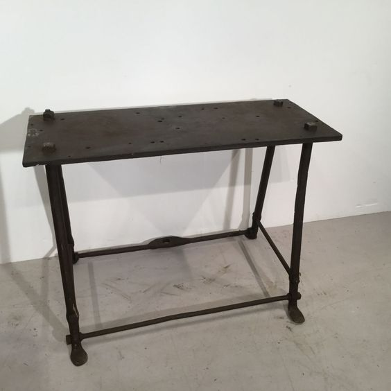 Victorian Wrought Iron Table