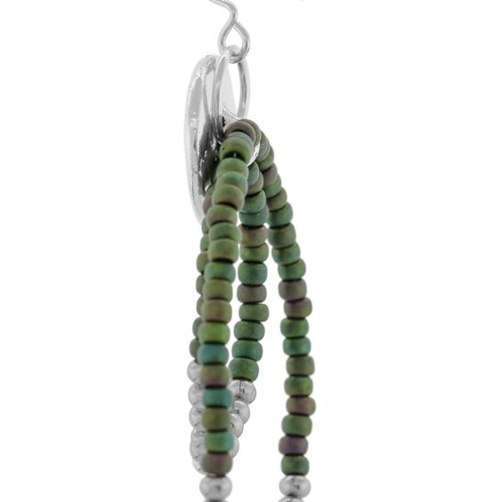 Bird In Tree Earrings | Fusion Beads Inspiration Gallery