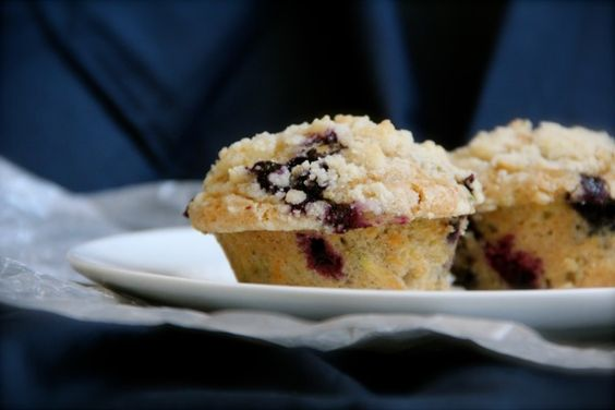 Blueberry Zucchini Muffins: A great way to use 2 summer ingredients.