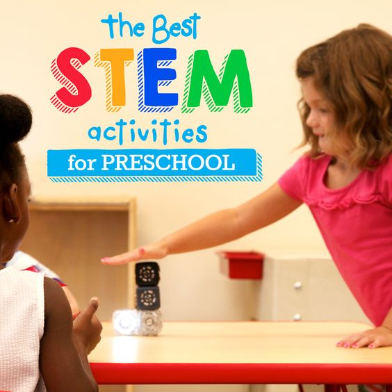 Stem School Kindergarten: STEM For The Preschool Classroom