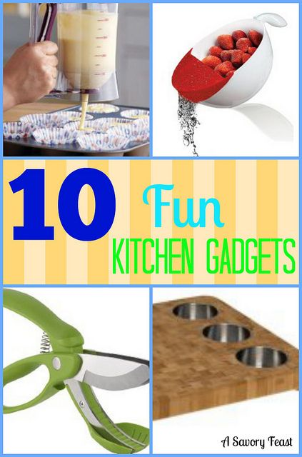 10 Fun Kitchen Gadgets Cooking Gadgets and Kitchens