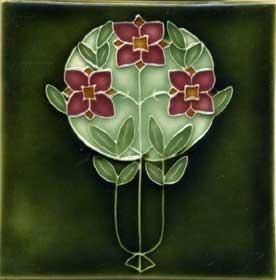 Porteous Art Tile V55 ($36 unframed) from The Mission Motif