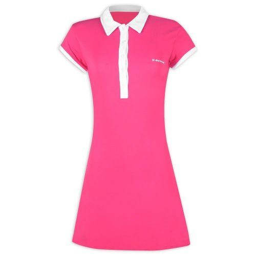 Foto principal de Vestido Dunlop Polo Botão Feminino Rosa Batom