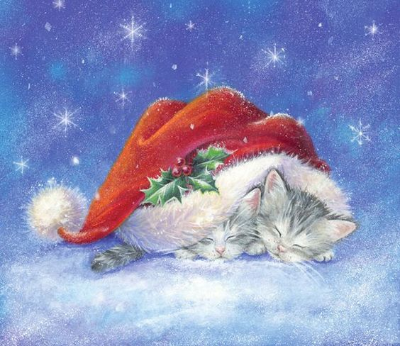 From Annie❤️Christmas Kittens ~ Artist Sarah Summers: