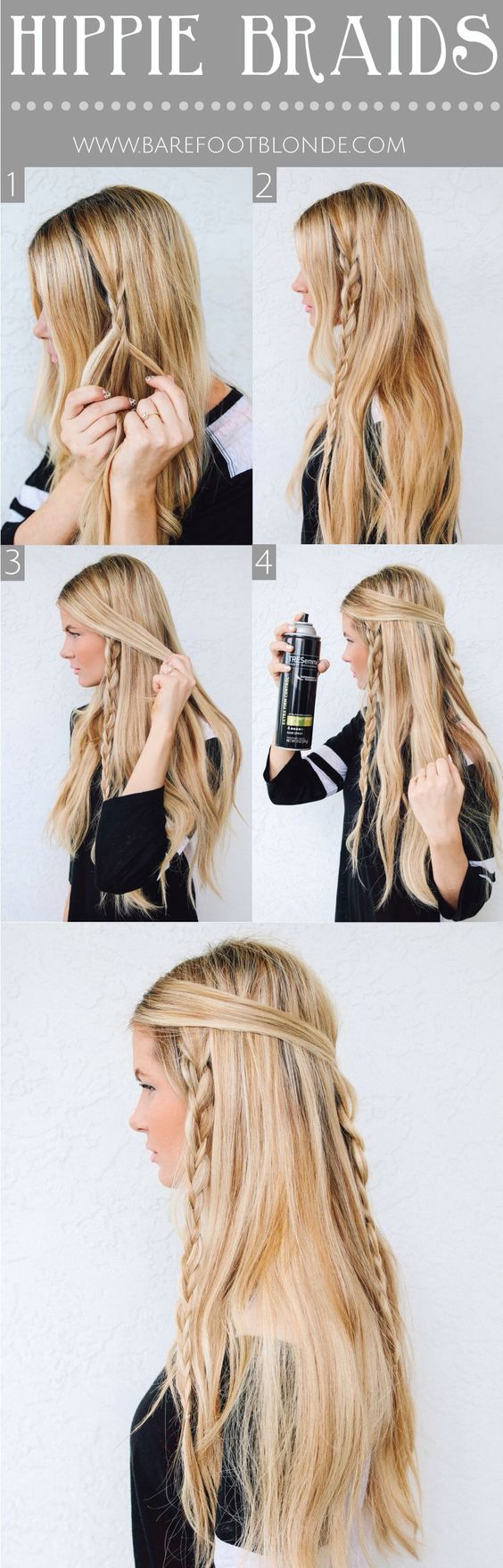 I love to do this to my hair. It looks gd with brown hair too
