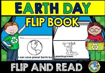 #EARTH #DAY #FLIP #BOOK TO #ENCOURAGE #CHILDREN TO #SAVE #PLANET #EARTH!