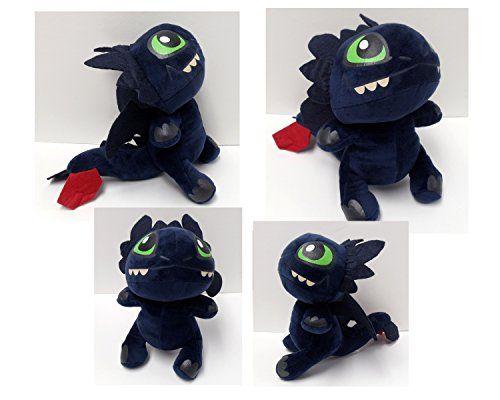 How to Train a Dragon 2 Small Plush ~ Toothless How to Train a Dragon2 http://www.amazon.com/dp/B00KMZWS4O/ref=cm_sw_r_pi_dp_vCHJvb08EMNY5