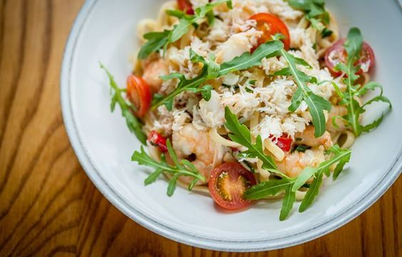 Crab linguine by Paul Ainsworth