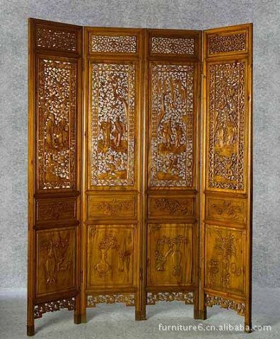 Find More Living Room Cabinets Information about Customize solid old wood graceful carving Chinese antique furniture folded room partition,High Quality screen guild,China furniture daybed Suppliers, Cheap furnitur from Shenzhen Doreen Design Limited on Aliexpress.com