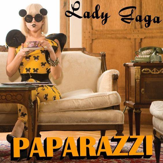Lady Gaga – Paparazzi (single cover art)