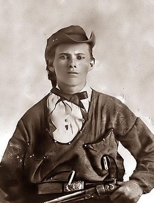 Young Jesse James (approx. 16 yrs. of age). Missouri bushwhacker riding with Bloody Bill Anderson.