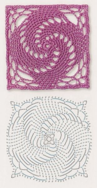 Patrones Crochet and Ganchillo on Pinterest