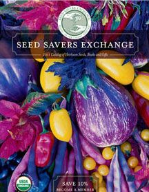 Seed Savers Exchange is a non-profit organization dedicated to saving and sharing heirloom seeds.